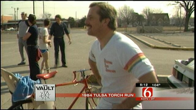 From The KOTV Vault: The 1984 Olympic Torch Relay Comes Through Oklahoma