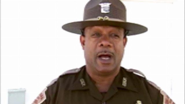 WEB EXTRA: Oklahoma Highway Patrol Trooper Antonio Porter Says The Goal Is Safe Roads