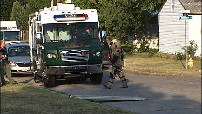 WEB EXTRA: Video From Scene Of North Florence Home Where Explosive Chemicals Found
