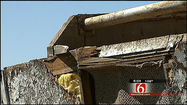 Downburst Winds Leave Trail Of Damage In Nowata County