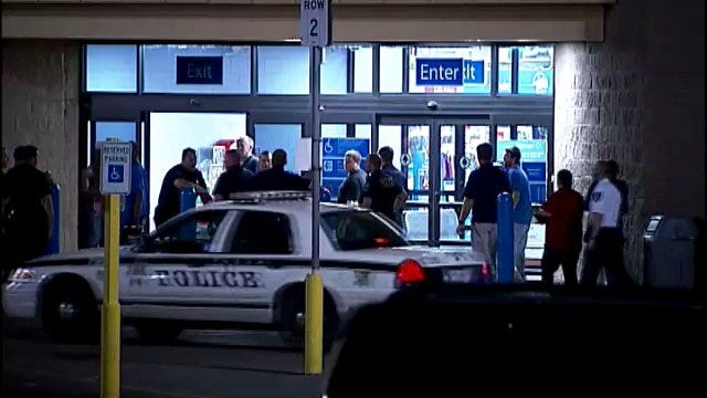 WEB EXTRA: Video From Scene Of Walmart Store Evacuation