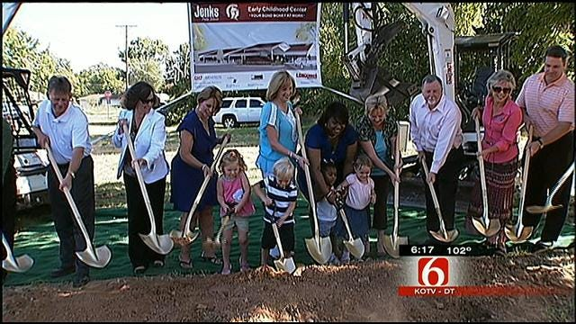 Jenks Public Schools Breaks Ground On Three New Buildings