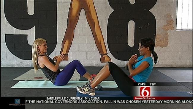 Exercise Expert Targets Abdominals