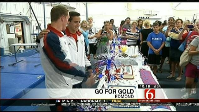 Oklahoma Olympians Receive Warm Send Off