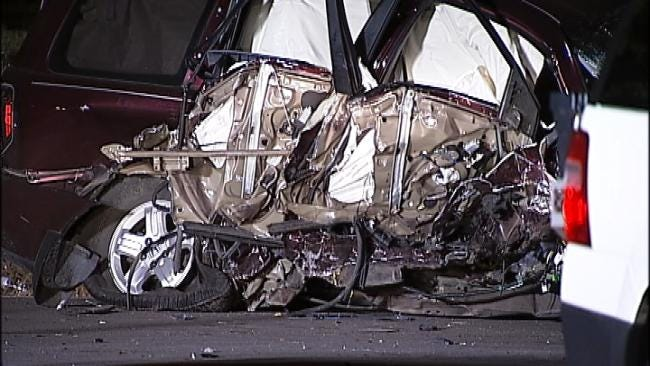 WEB EXTRA: Scenes From Broken Arrow Wreck