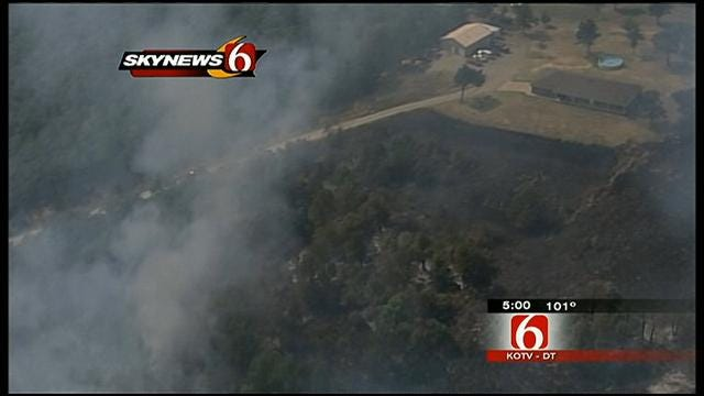 Tulsa County Commissioners Issue Burn Ban
