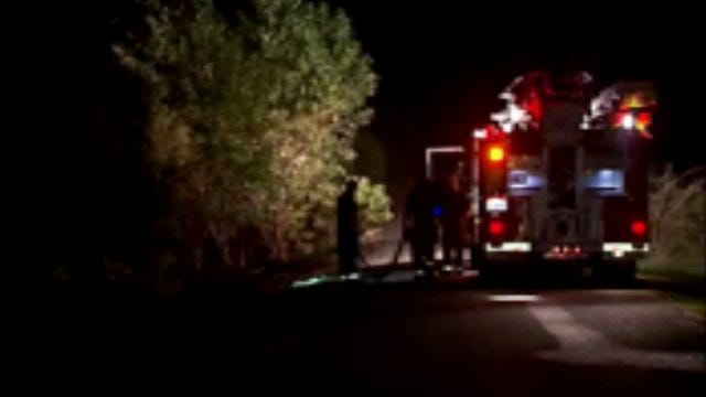 WEB EXTRA: Video From Overnight Grass and Brush Fires