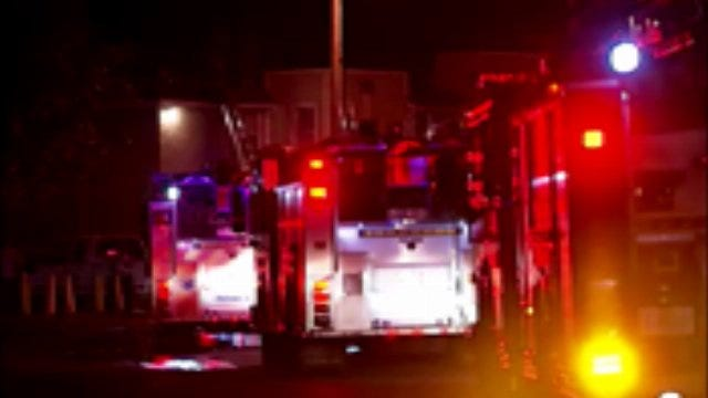 WEB EXTRA: Video From Scene Of East Tulsa Apartment Fire