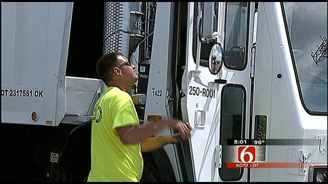 Tulsa Trash Pickup Gets New Trucks, New Service