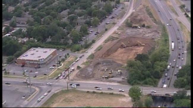 WEB EXTRA: Sky News 6 Flies Over Construction At I-44 And Lewis