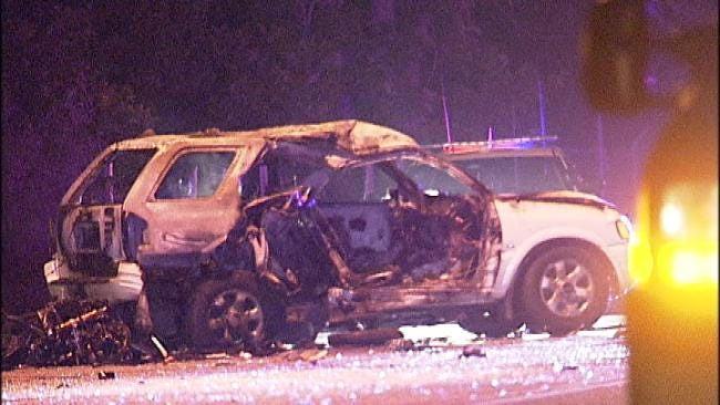 WEB EXTRA: Scenes From Turley Fatality Wreck
