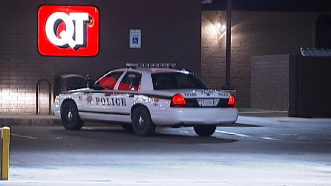 WEB EXTRA: Video From Scene Of Armed Robbery In East Tulsa