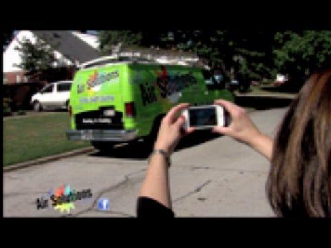 Air Solutions: Spot Our Van