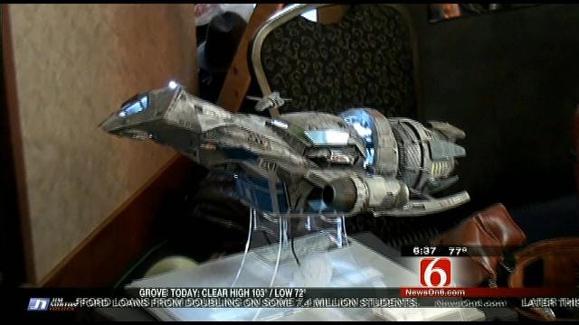 Fly The Coop: Star Trek Convention In Tulsa