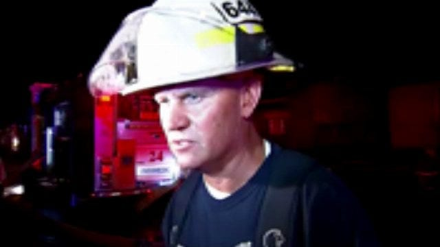 WEB EXTRA: Tulsa Fire District Chief Brian Hickerson Talks About House Fire