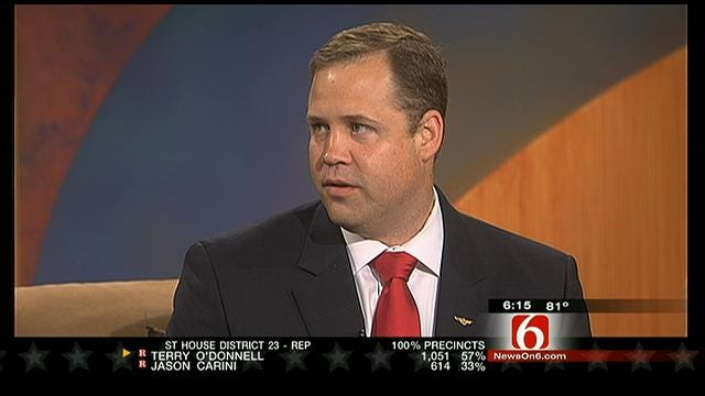 Winner Of Republican 1st Congressional District Primary Talks With Six In The Morning
