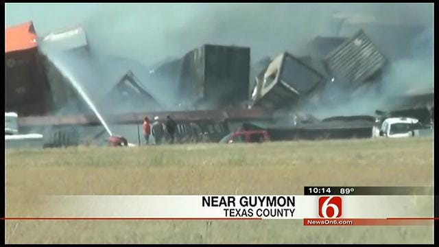 Authorities Identify Three Killed In Train Collision Near Goodwell