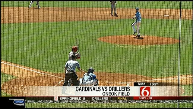 Drillers Drop Finale To Springfield