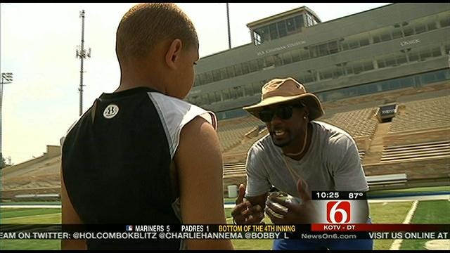 Former TU Player Honored With Camp