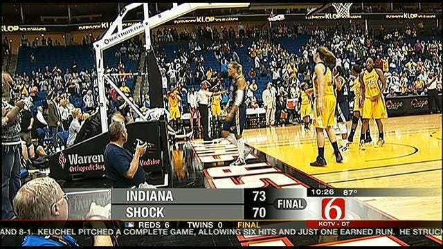 Shock Falls To Indiana At Home