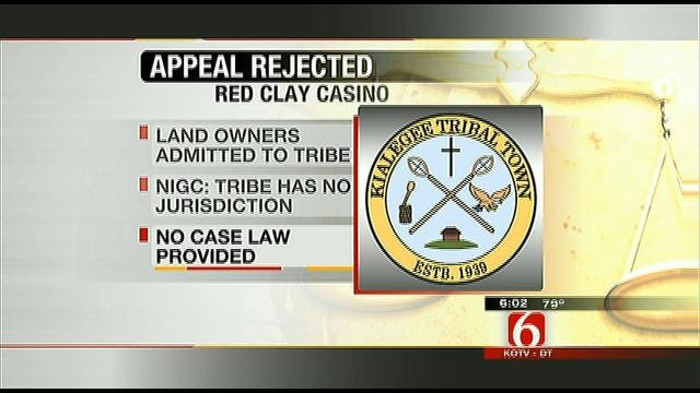 Gaming Commission Rejects Appeal Over Broken Arrow Casino