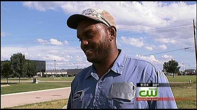 Calf Roper Hog-Ties Suspected Tulsa Car Thief