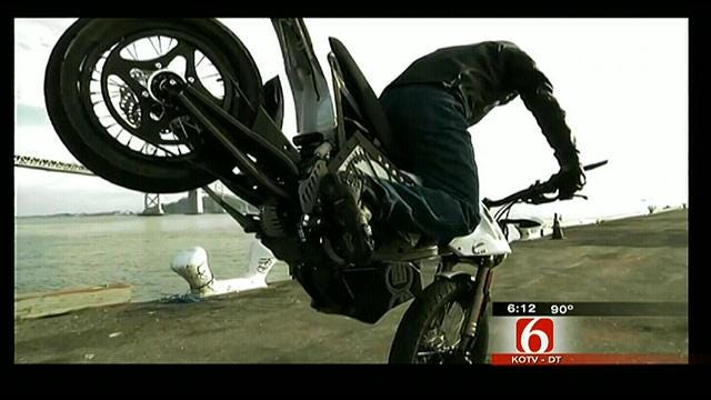 Tulsan Gets Revved Up About Electric Motorcycle