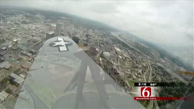 Fly In Vintage WWII Plane Thanks To Tulsa Aviation Group