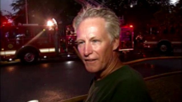 WEB EXTRA: Tulsa Homeowner Michael Vowels Talks About House Fire