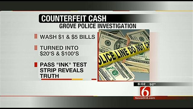 Grove Police Department Issues Counterfeit Money Warning