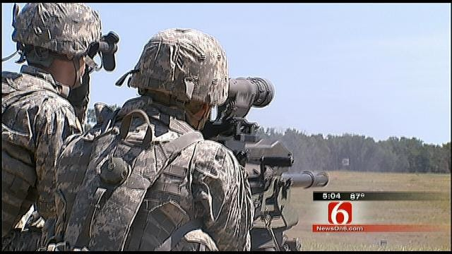 Military Ties Further Bond Oklahoma Soldiers Who Serve With Family