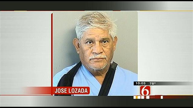 Man Accused Of Killing Wife Released From Hospital, Booked Into Tulsa Jail