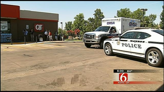 Gunman Opens Fire At South Tulsa QuikTrip
