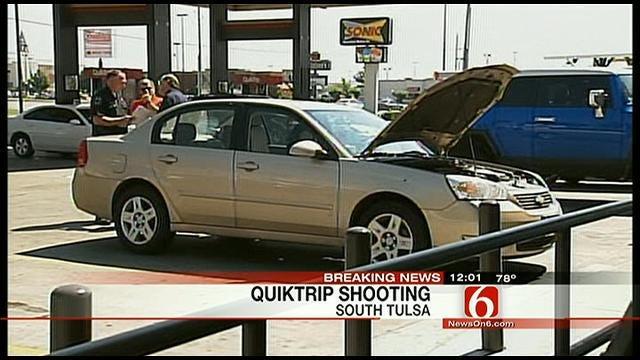 Witness Tells Of South Tulsa QuikTrip Shooting