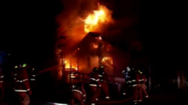 WEB EXTRA: Video From Scene Of Rockford House Fire