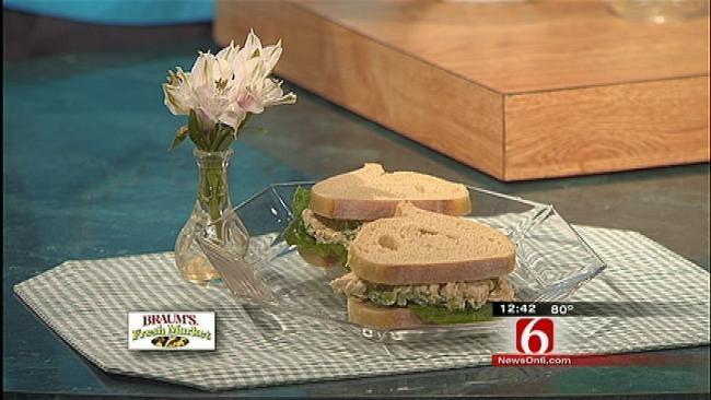 Chicken Salad On Panera Country Bread