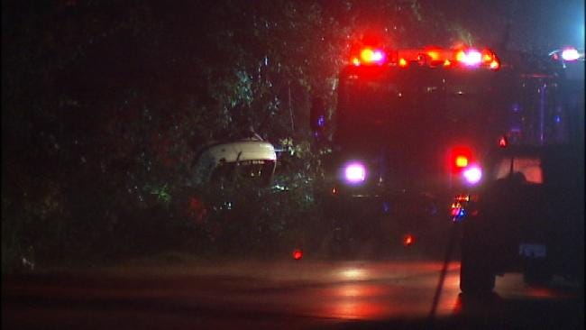 WEB EXTRA: Scenes From Fatal Wreck On South Delaware