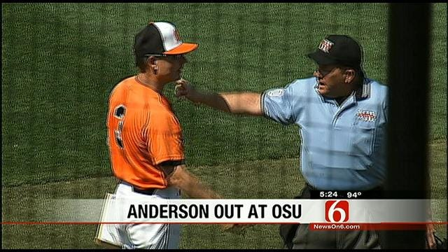 Frank Anderson Fired From Cowboy Baseball