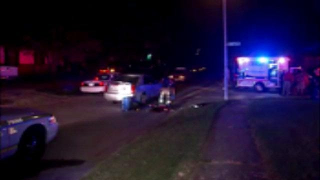 WEB EXTRA: Scenes From East Tulsa Shooting