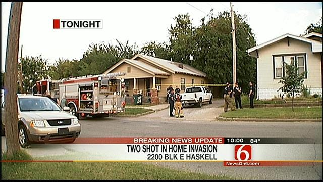 Two Shot In North Tulsa Home Invasion