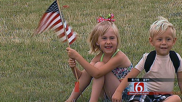 Hominy Gets Ready For Memorial Day
