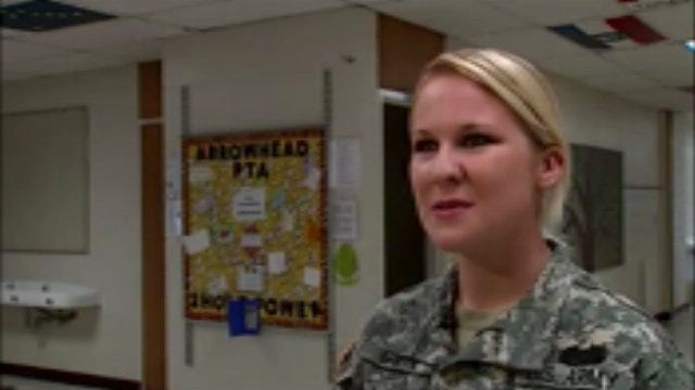 WEB EXTRA: Specialist Shanna Gantz Talks About Being A Pen Pal With The Students