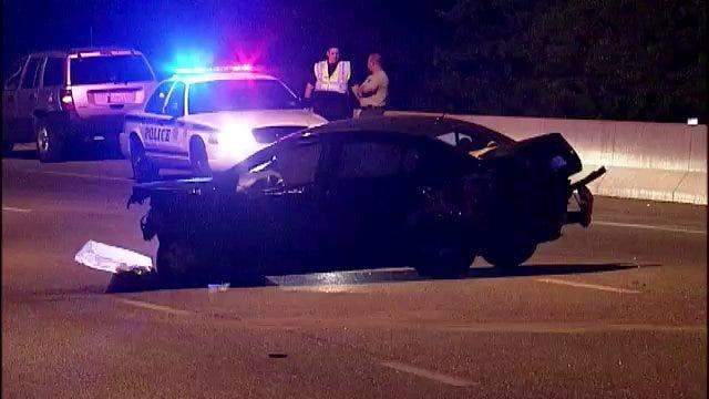 WEB EXTRA: Video From Scene Of Monday Evening Crash On BA Expressway