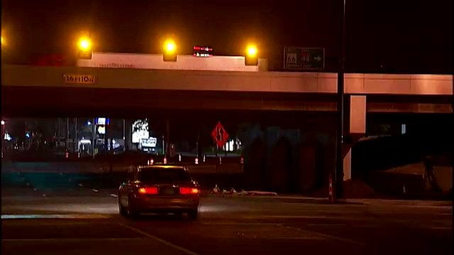 WEB EXTRA: Early Morning Video From Intersection Of I-44 At Peoria