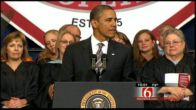 Obama: Joplin Graduates Are Source Of Inspiration