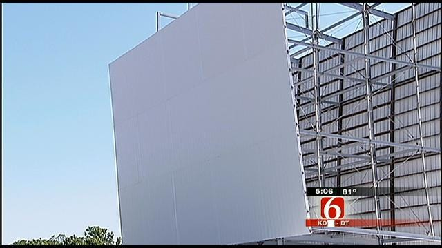Tulsa Admiral Twin Re-Opening Delayed By Vandals