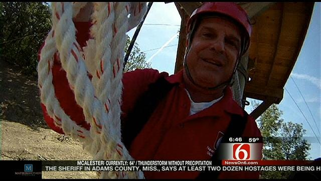 Six In The Morning: Post Oak Lodge Zip Line Tour