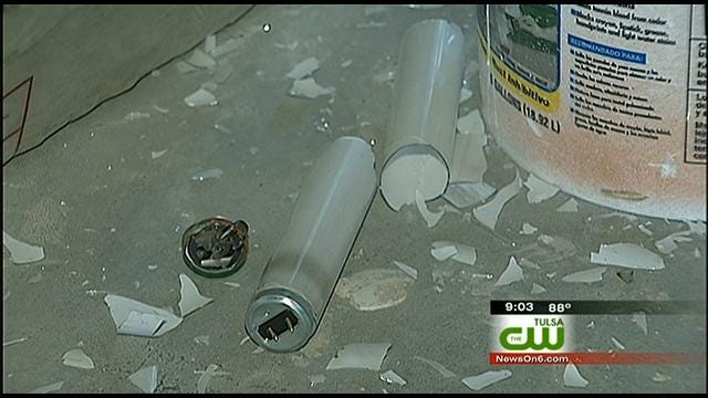 Vandals Damage Admiral Twin Drive-In Theater