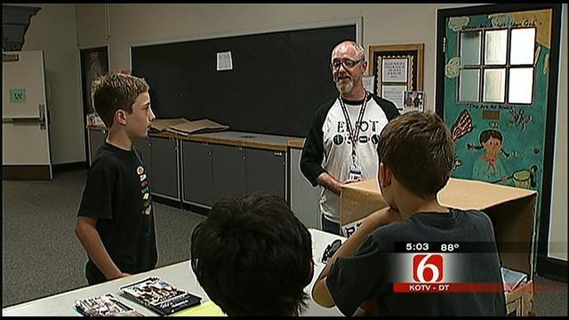 Tulsa Parents Raise Money To Pay Teacher's Salary