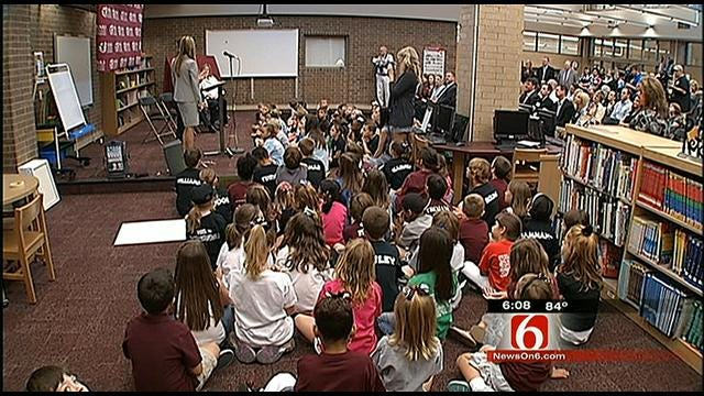 Jenks Schools Gets $1.1 Million Donation To Reduce Class Size